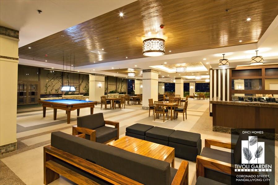 Tivoli Garden Residences Sports Lounge