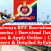Indian Railways RPF Recruitment 2018 | 9739 Vacancies | Download Detailed Notification & Apply Online | Check Exam Pattern & Detailed Syllabus