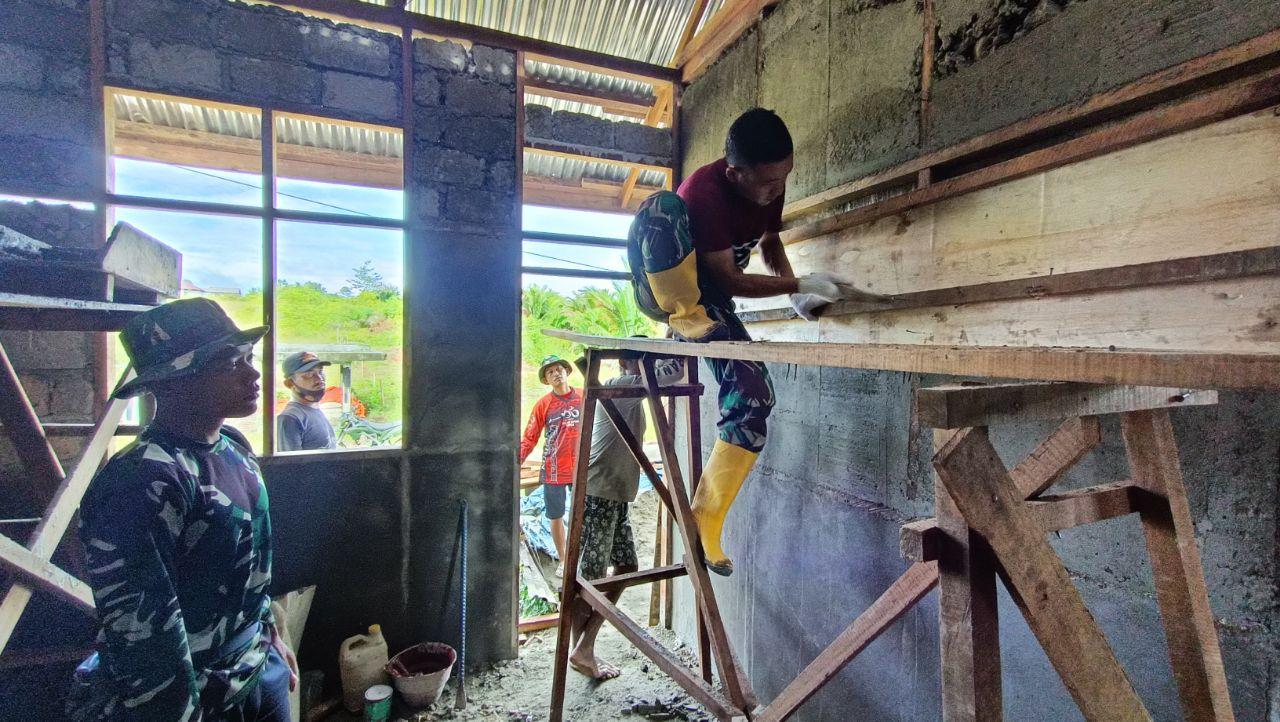 Program TMMD di Distrik Kawagit Sudah Mencapai 50,1 Persen