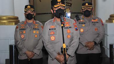 Dukungan Kapolda Jawa Timur Atas Program Kapolrestabes Surabaya dalam Penanganan Covid-19