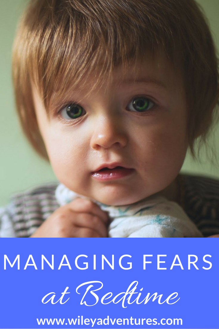 Conquer Your Toddler's Irrational Fears AND Managing Fears at Bedtime {BFBN Week}
