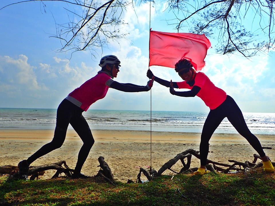 Amoi rides in the kampungs: East Coast Ride (19-31 March