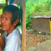 Terharu, Kakek Ini Dibuang Oleh Keluarganya Dengan Alasan Bau Badan