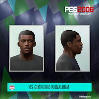 PES 6 Faces Georginio Wijnaldum by El SergioJr