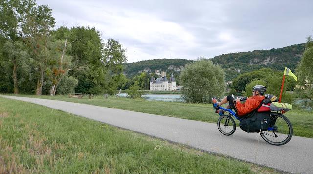 Voyage à vélo, ViaRhôna