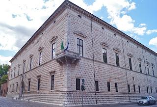 The Palazzo dei Diamante in Ferrara