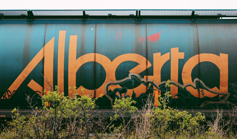 Leaving Jasper Alberta