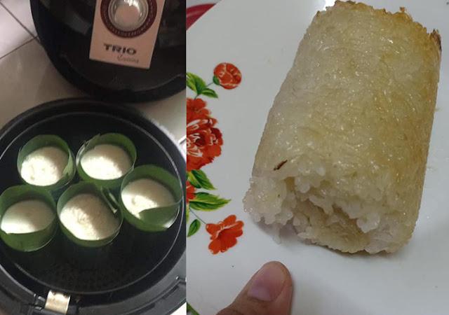 Masak Lemang Dengan Hanya Menggunakan Air Fryer Sahaja