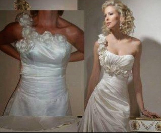 Photos: The wedding dresses that look stunning online but are ...