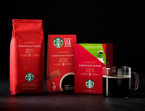 starbucks christmas blend also returns the coffee enjoyed in more than 60 countries around the world since 1984 showcasing starbucks artistry in roasting