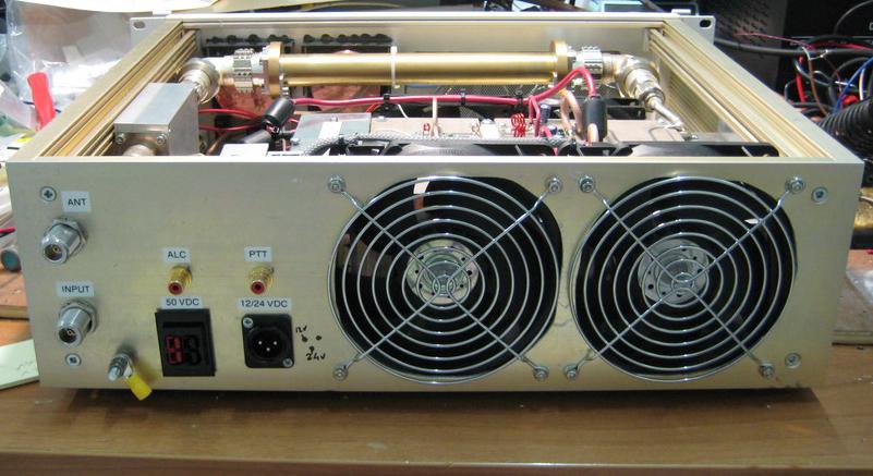 Amateur dual band amplifiers-9657