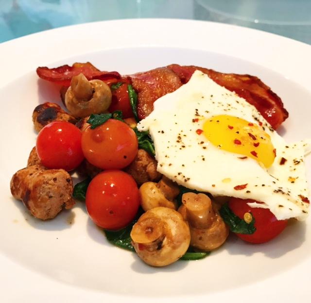 Healthy but Tasty Full English Breakfast