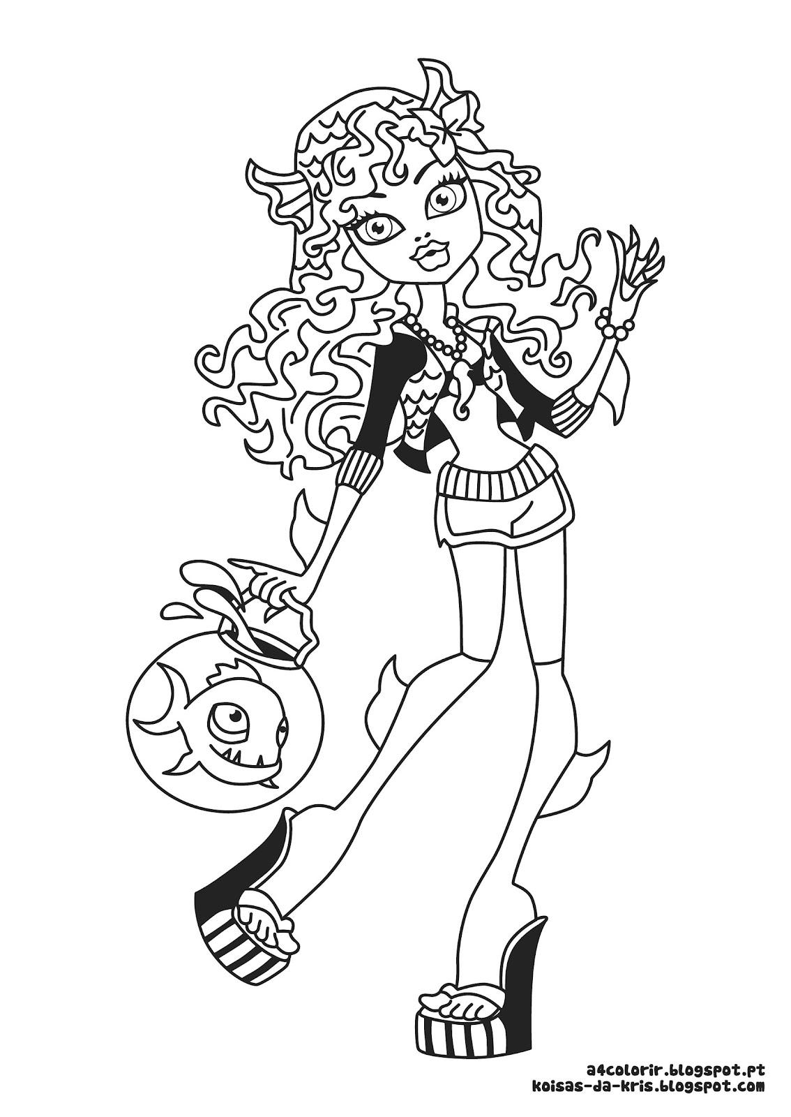 Desenhos Para Colorir Da Monster High