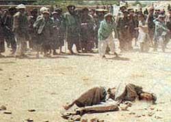 mengerikan tragis seram: hukuman rajam bagi pria pezina