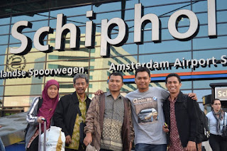 Bandara Schipol Amsterdam