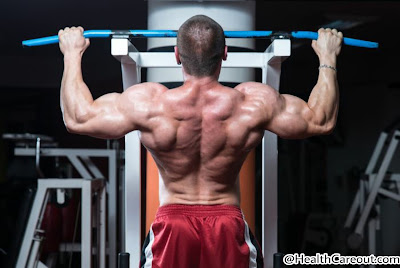 Back workout in gym healthcareout.com