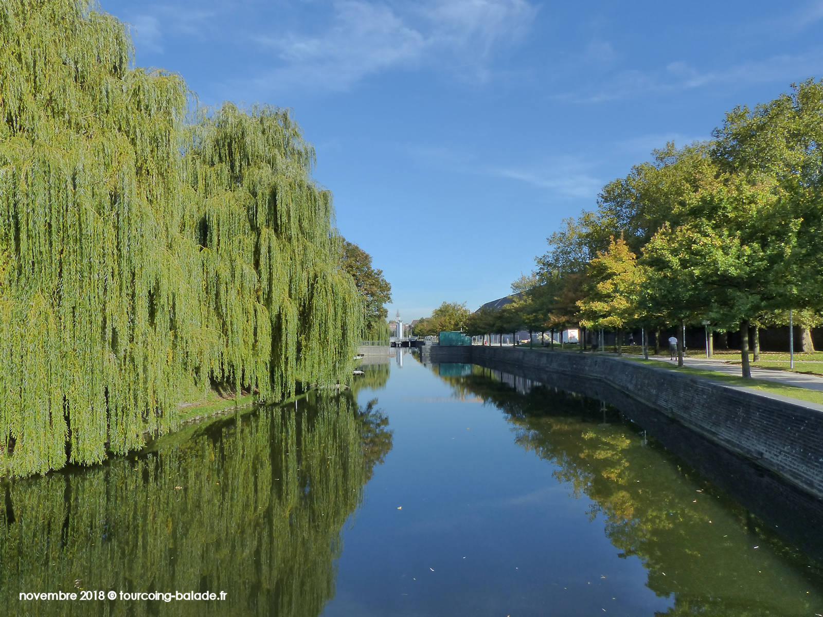 Canal de Tourcoing, quai de Bordeaux, 2018