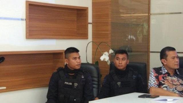 Ternyata Anggota Brimob Bermata Sipit yang Dikatakan Dari China Asli Orang Indonesia