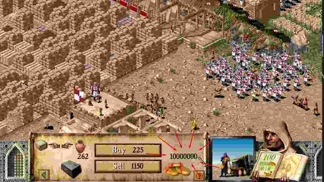 Game stronghold Crusadder Perbanyak Uangnya