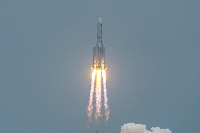 EL PLANETA ESTÁ EN ALERTA: Cohete Chino Sin Control.