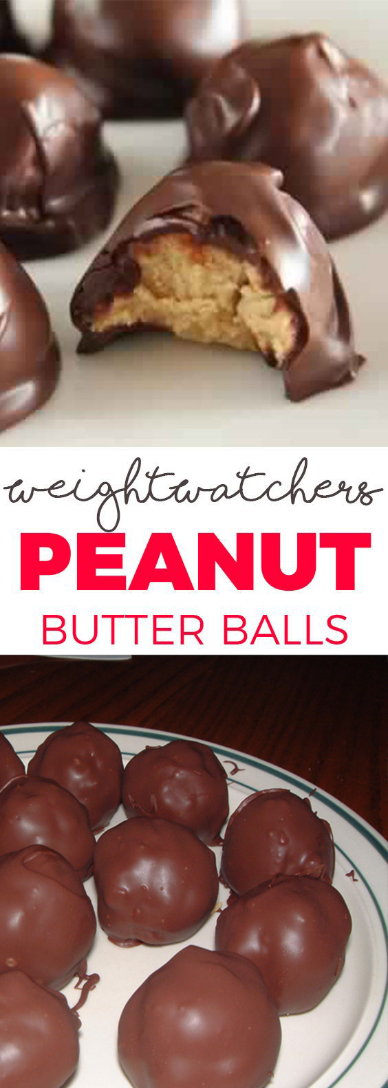 Peanut butter balls – 2 SmartPoints