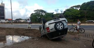 Chuva pode ter provocado dois acidentes em JP na manhã desta sexta-feira