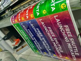 Tempat Cetak Stiker Murah di Jakarta
