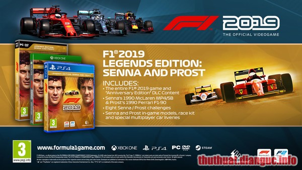 Download Game Đua Xe F1 2019 Full Crack