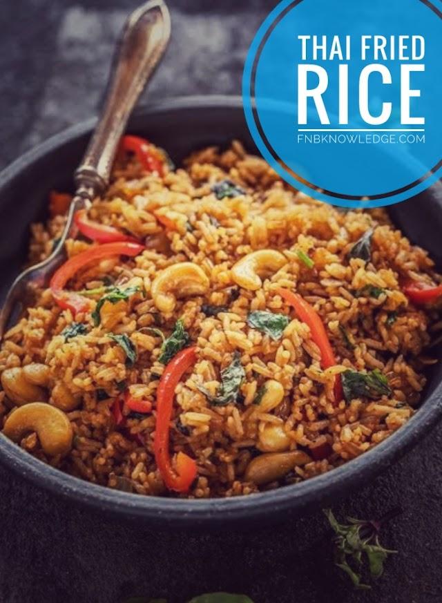 Thai Fried Rice (Kao Pad Goong Moo) recipe
