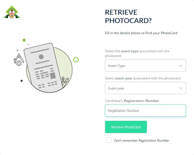 Retrieve Your NECO Photocard [NCEE, BECE & SSCE] | Photocard Finder