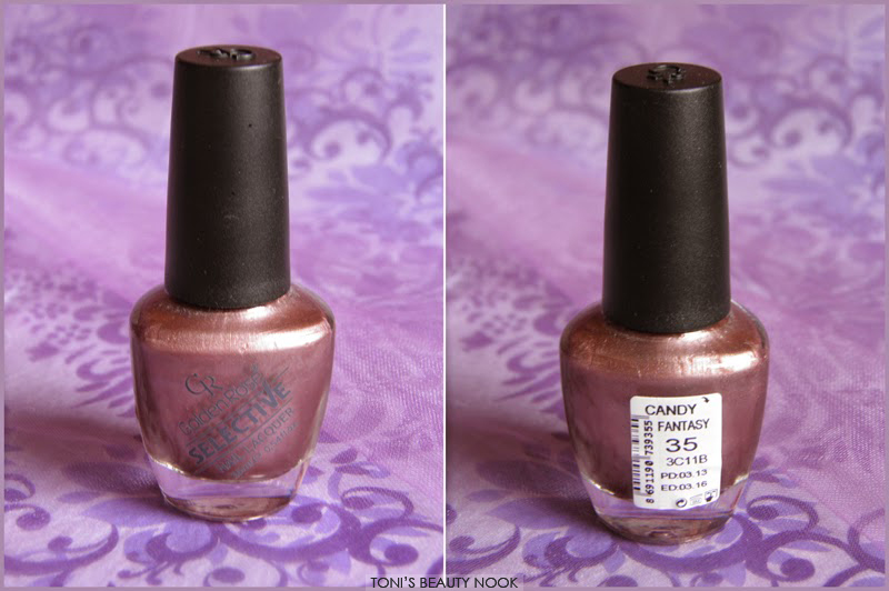golden rose selective nail polish candy fantasy
