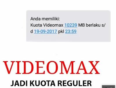Cara Mengubah Kuota Videomax Menjadi Kuota Reguler Terbaru