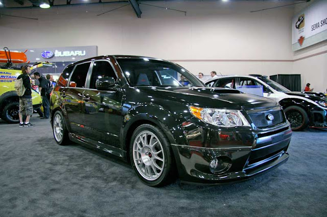 Subaru Forester XTI at the SEMA Show.