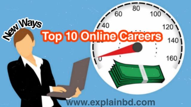 Top 10 Online Careers 2021