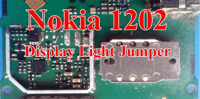 Nokia 1202 Display Light Repair Light Problem Solution Jumper Ways