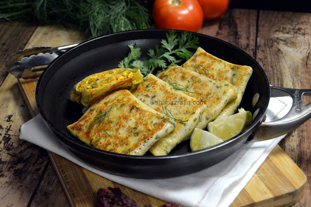 Love To Cook: Vegetable Cheese Crepes