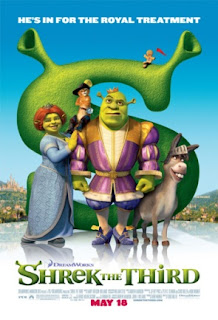 Shrek The Third Theatrical Poster