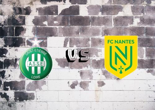 Saint-Étienne vs Nantes  Resumen