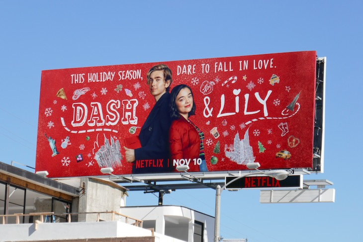 Dash Lily series premiere billboard