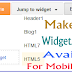 How To Make Any Widget / Gadget Available For Mobile View