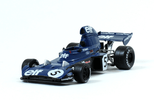 Tyrrell 006 1973 Jackie Stewart f1 the car collection