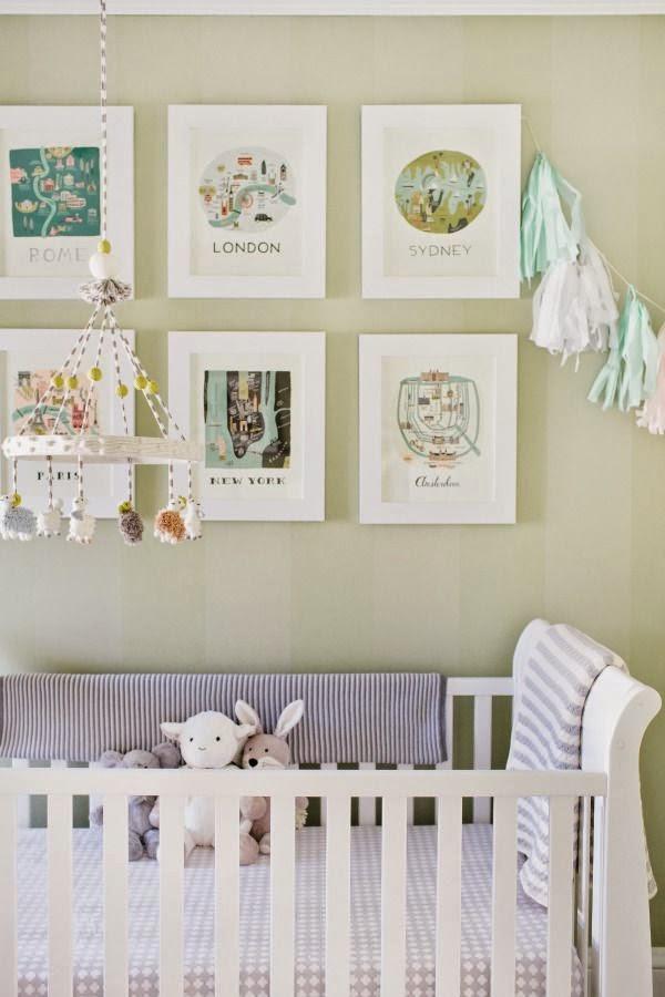 Como Decorar Y Pintar La Habitacion De Una Bebe