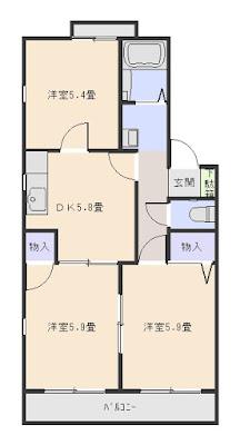 コーポ鈴三番館203 増尾6丁目
