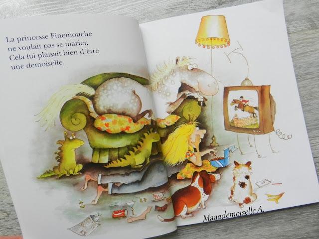 || La Princesse Finemouche (Présentation & Avis)(Chut, les enfants lisent # 61)