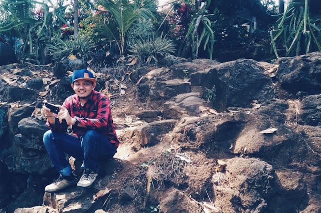 Foto cowok keren di Wisata Kaliaro Lampung Timur