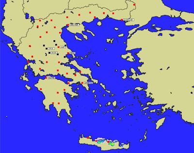 4 - Πρόγνωση Ελλάδας-Θεσσαλίας 21-23/1/2020 Βοριάδες, παγετός και ηλιοφάνεια