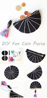 DIY Fan Coin Purse Tutorial