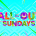 FORGET YOUR TROUBLES THIS WEEKEND WITH 'ALL OUT SUNDAYS' CELEBRATING SUMMER PINOY STYLE IN GREAT MUSICAL PRODUCTION NUMBERS!!!!!