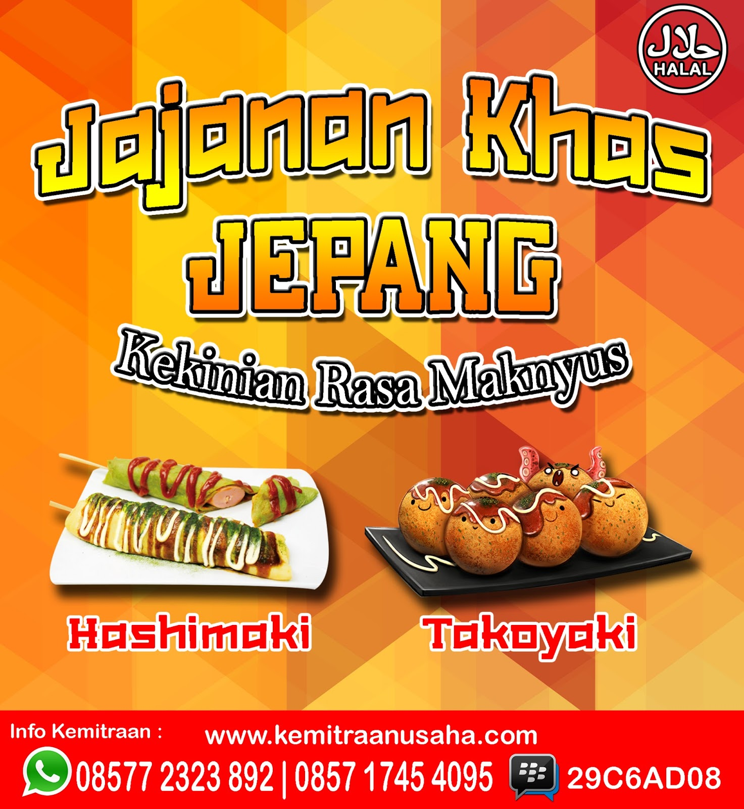 Contoh Banner Makanan Takoyaki - gambar spanduk