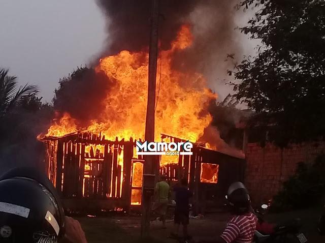 Homem ateia fogo na própria residência ao saber que agressor da filha ainda se encontrava no local